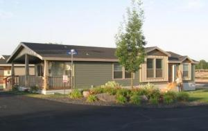 Nice new large manufactured home